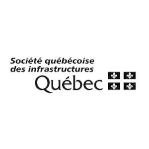 Logo Société québécoise des infrastructures Québec
